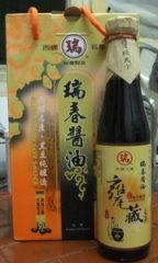 瑞春甕藏壺底黑豆醬油-240-1