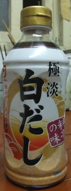 丸金極淡白醬油-001