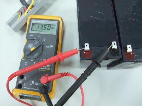正常電池的電壓