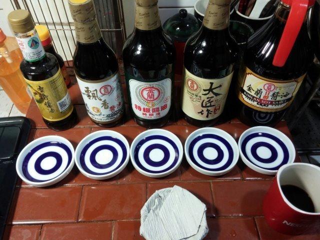 五瓶金蘭醬油評鑑-001