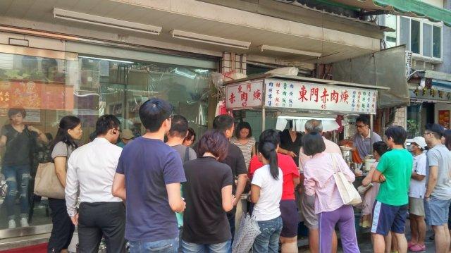 買肉羹也要排隊---東門赤肉羹