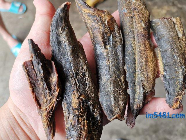 南方澳新禾昌水產加工廠所製造的柴魚: 鯖節跟鰹節,鯖節重香、鰹節重鮮。