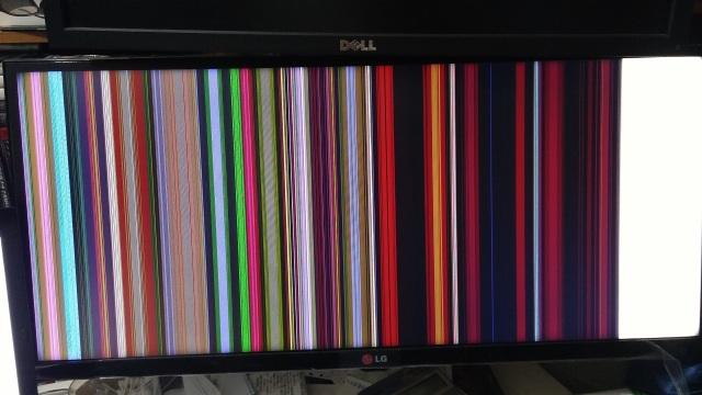 LG 29UB65-P 螢幕故障