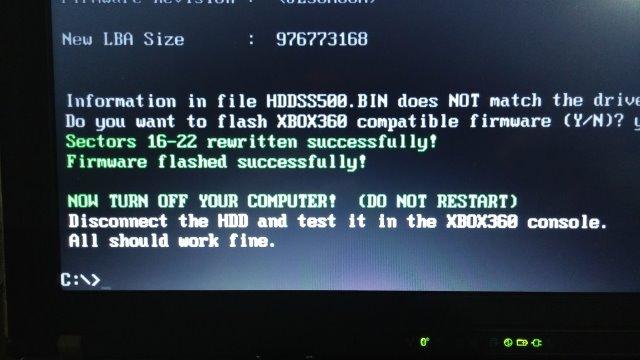 Xbox 360HDDHACKR-12
