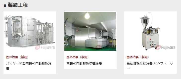 藤原醸機産業 製麹裝置