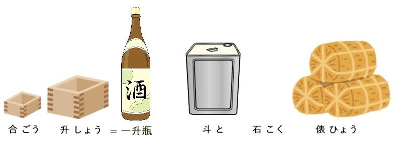 日本製酒跟醬油業的傳統容量單位