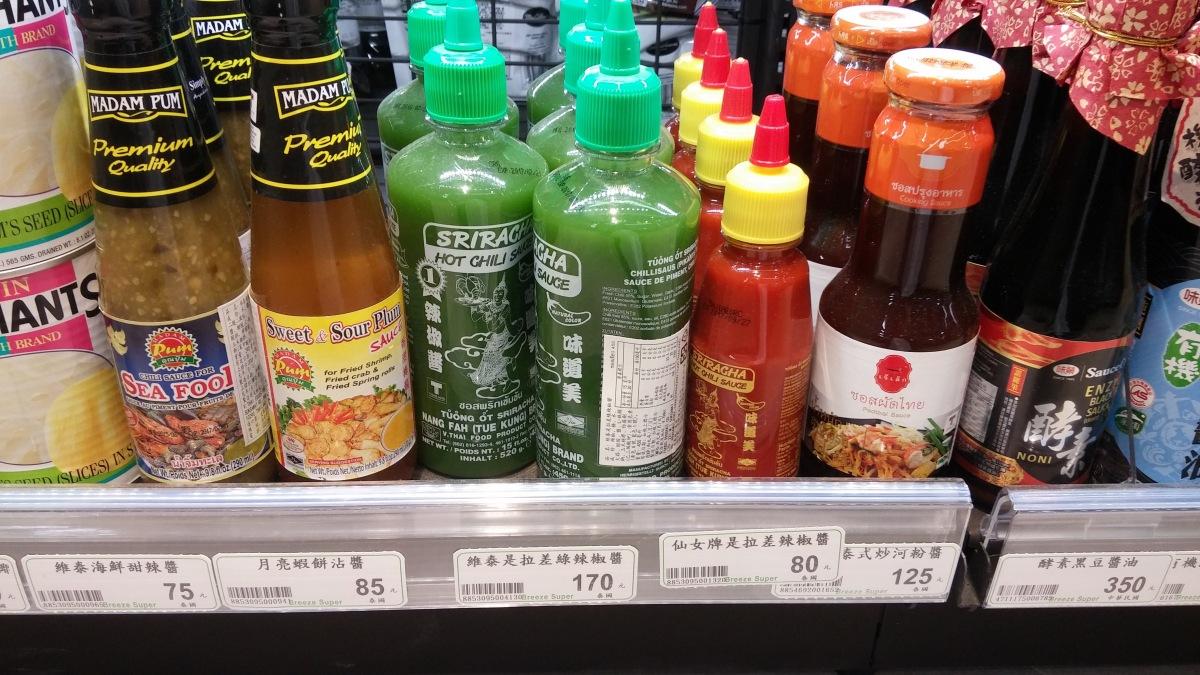 到底為何台灣的東南亞食品調味醬料很少看到大馬的?