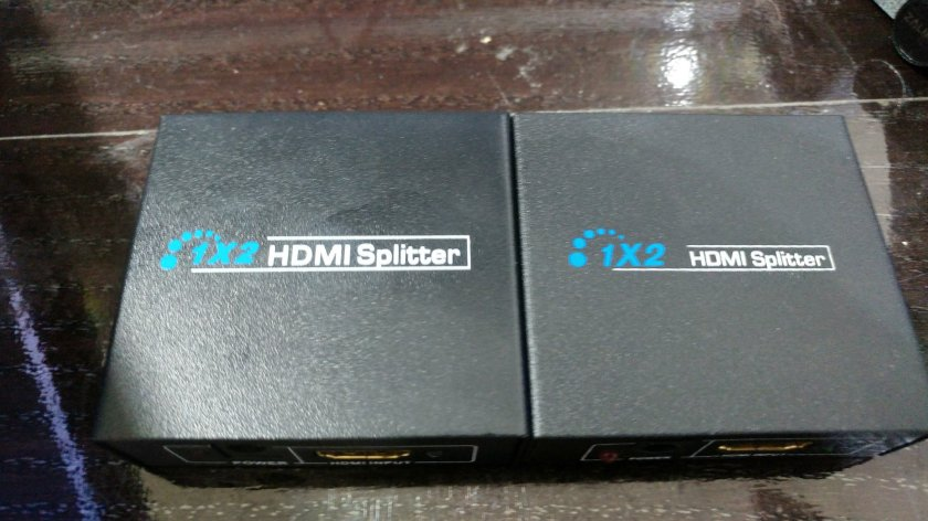 1 to 2 HDMI Splitter的上蓋差別