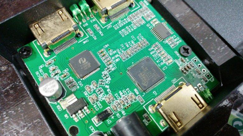 好的1 to 2 HDMI Splitter PCB設計