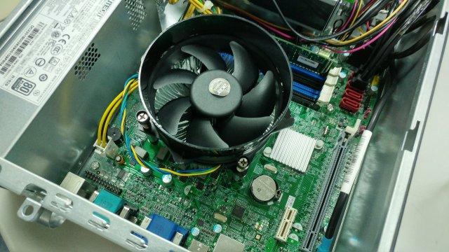 Acer Veriton VX4630G 主機CPU風扇的易碎貼紙