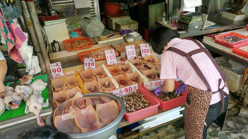 東市市場 魷魚乾