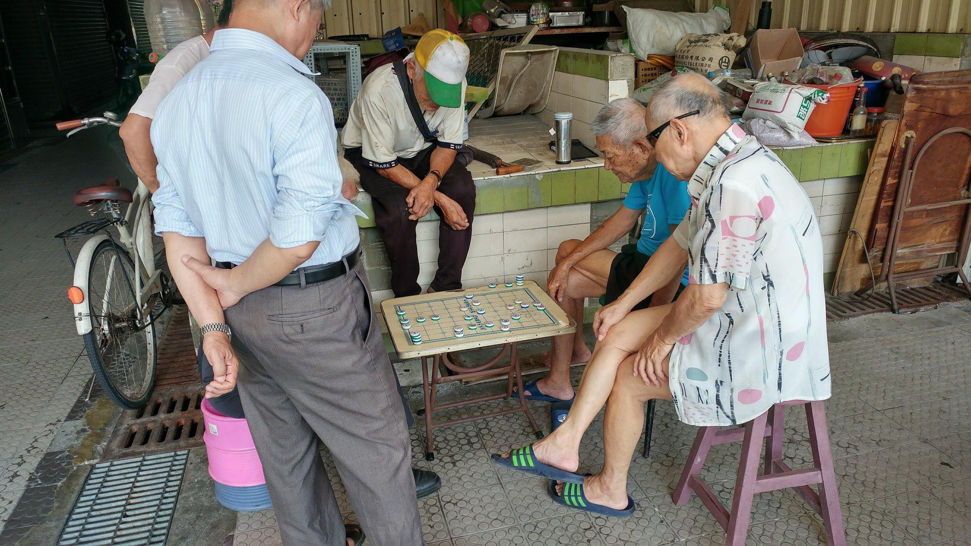 東市場 下棋