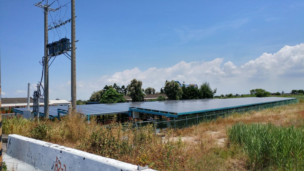 嘉義過溝 太陽能發電