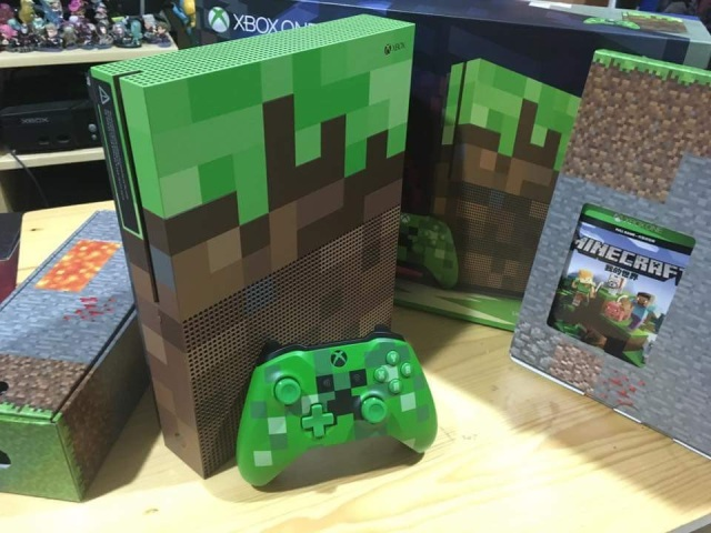 Xbox One S Minecraft Limited Edition Console《我的世界》特別主機 提供者:Hou Yang