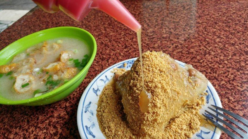 老店菜粽 辣椒醬