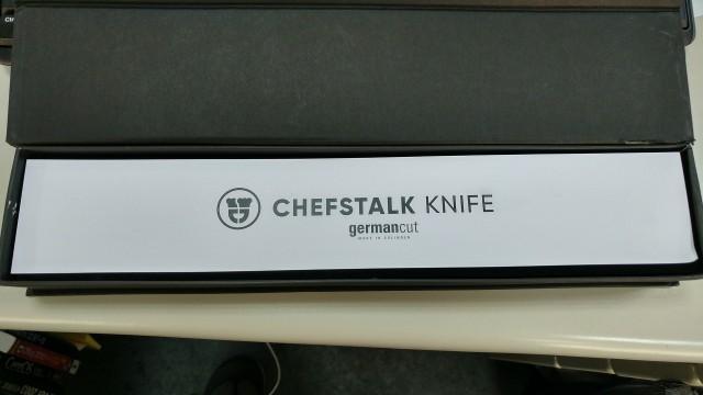 ChefsTalk knife 開箱