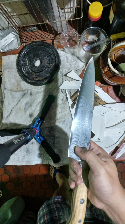 如果不磨掉ChefsTalk Knife