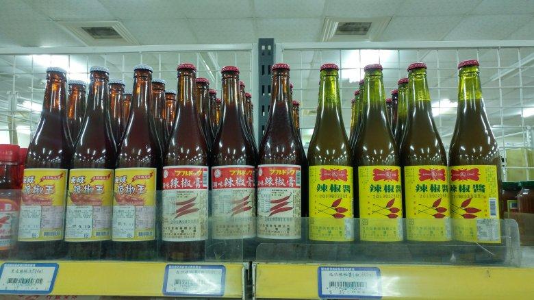 台南地區最常見的辣椒醬