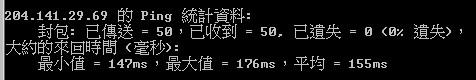 ping 204.1741.29.69