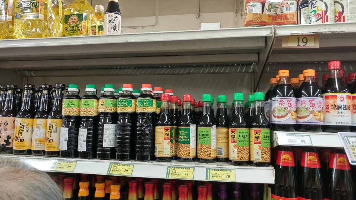 馬來西亞跟新加坡的醬油