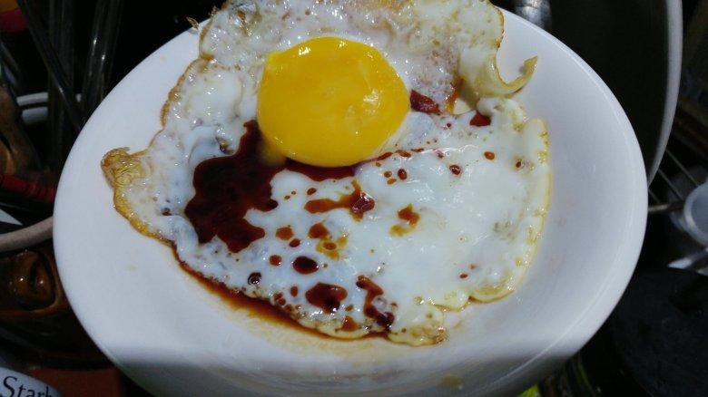 御用蔵生 測試醬油 荷包蛋