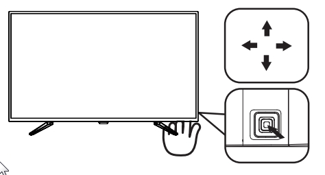 philips BDM4350UC/96 OSD按鈕