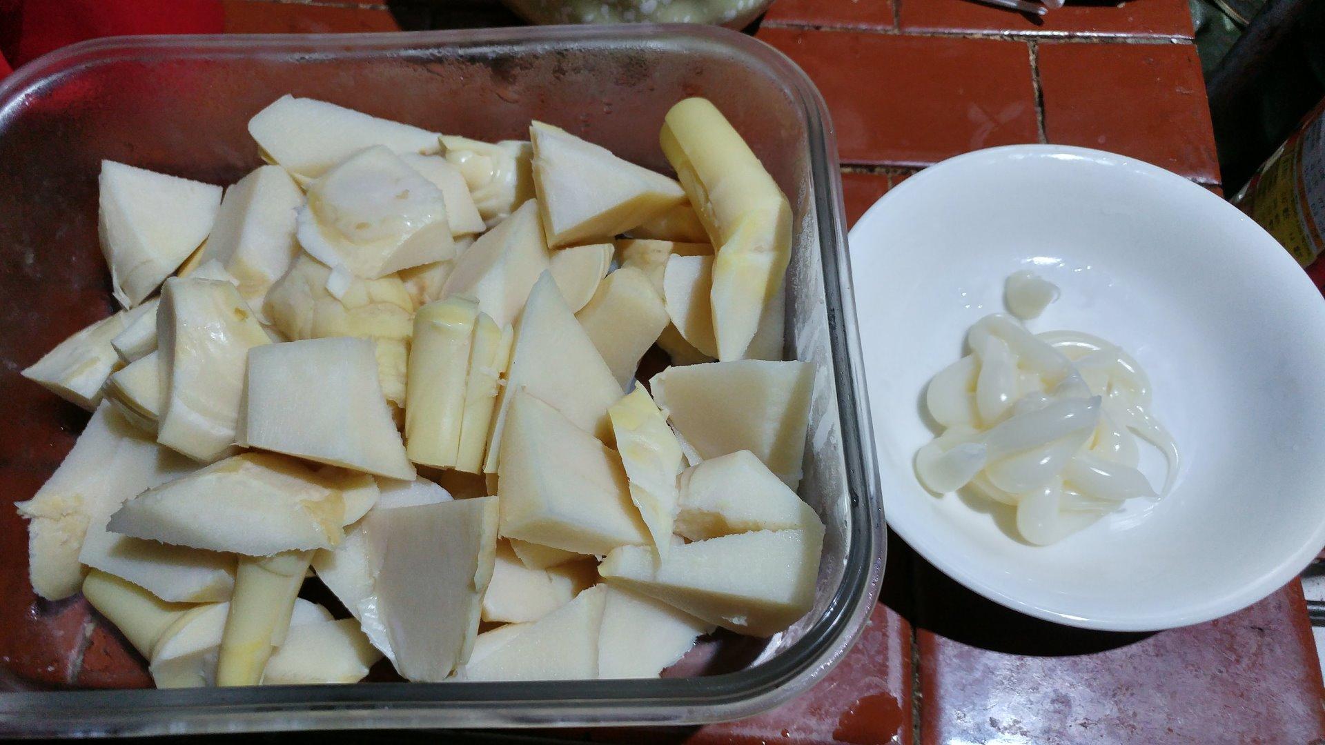 綠竹筍做沙拉筍的作法