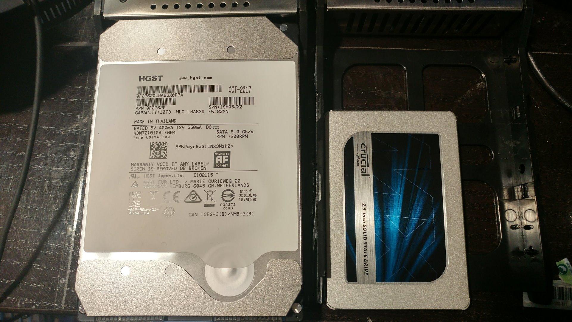"""【HGST】 3.5"""" 10TB 256MB"""