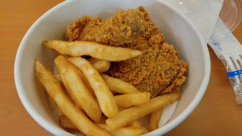 bbq chicken 黃金橄欖炸雞