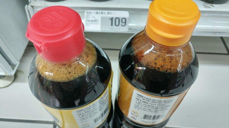 淡色醬油跟濃色醬油的差異