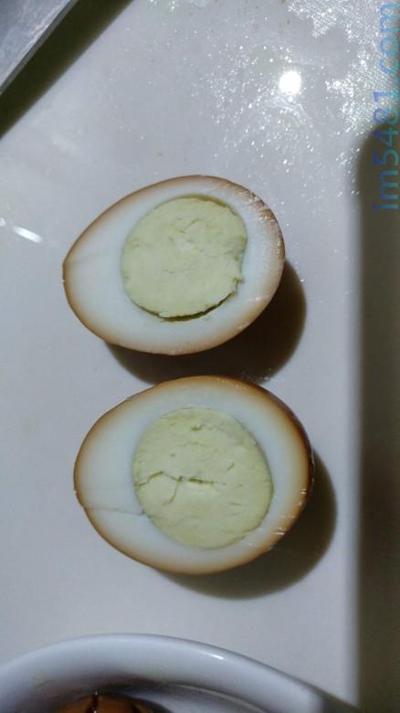 金蘭便利滷味醬滷出的滷蛋,滷的時間約50~55分鐘