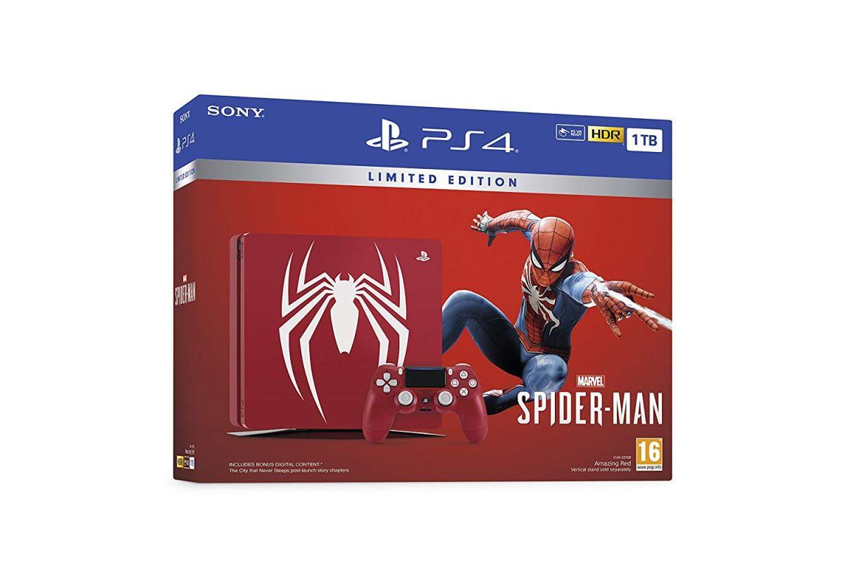 【純抱怨台灣售價】Ps4漫威蜘蛛人限量版主機國外才NT$13000