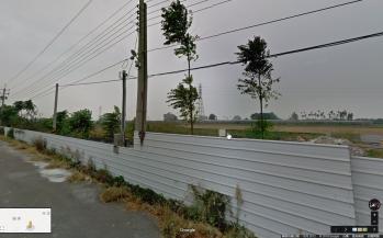 再藉由Google反查出拍照位置,注意高壓電塔、旁邊的獨立建築物,跟樹叢位置,找出日曝釀造基地位置。