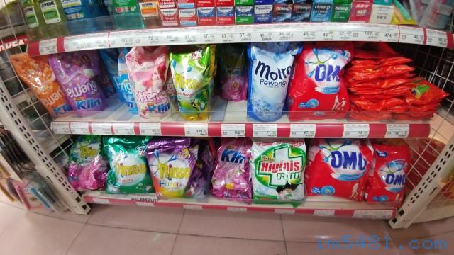 印尼柔軟精跟洗衣精越南OMO洗衣粉