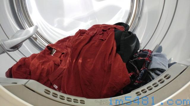 洗好、烘好的衣服