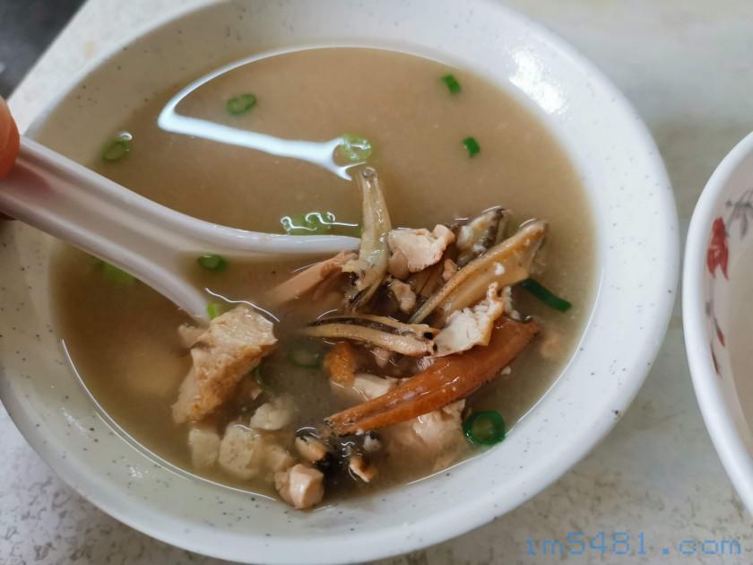 嘉義阿溪雞肉飯味噌湯