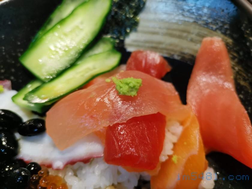 生魚片吃法