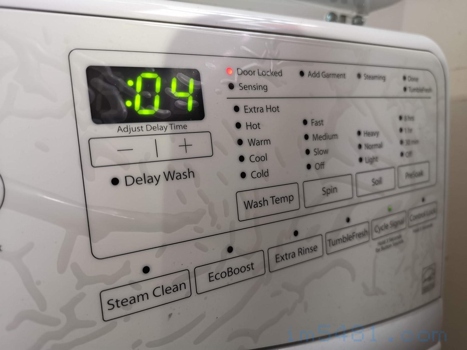 槽洗淨模式-04分鐘,準備做最後的清洗了