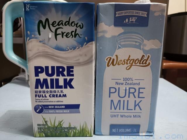 常見的保久乳 紐麥福保久乳跟雷克Westgold保久乳