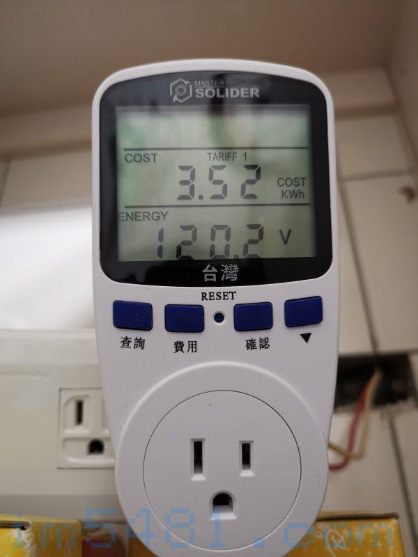基隆市電電壓會有突破120V的問題