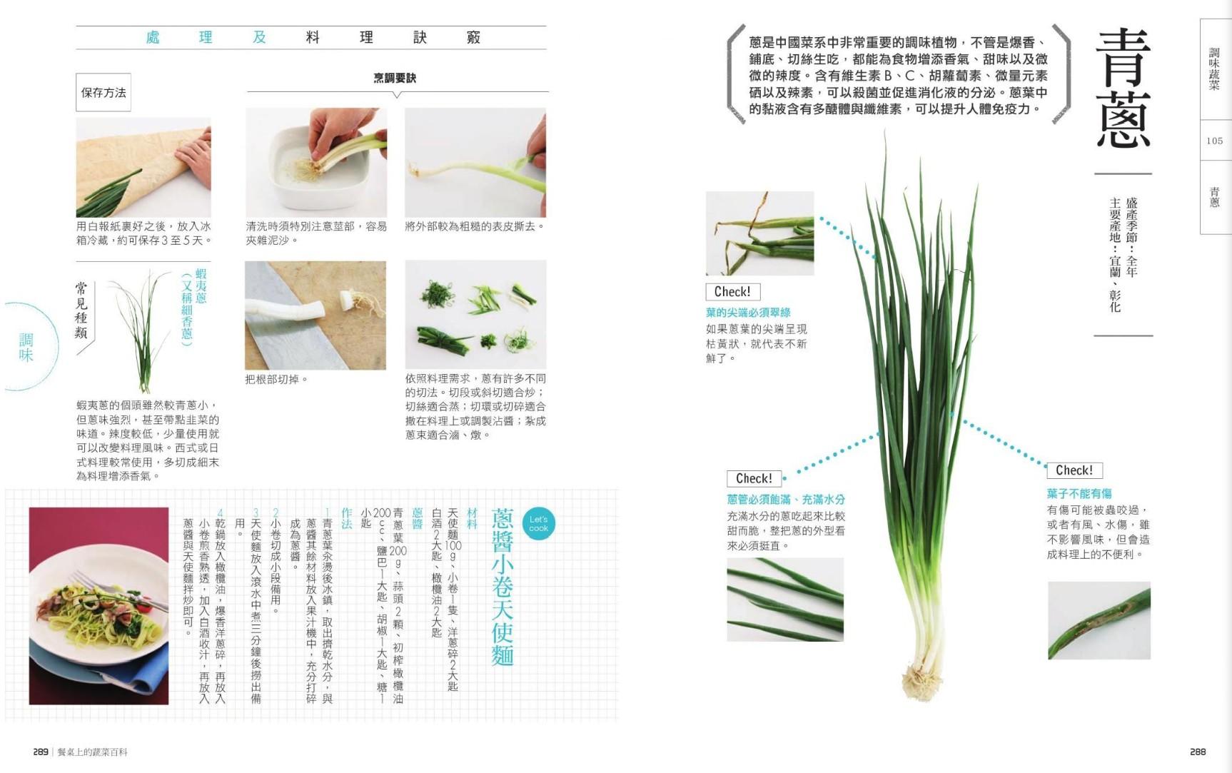 餐桌上的蔬菜百科:跟著季節吃好菜!聰明採買輕鬆料理的全食材事典-青蔥