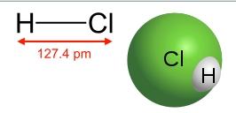 HCl-氯化氫的結構