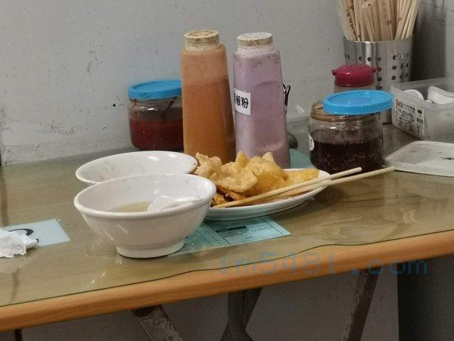 阿姬意麵-隔壁桌客人也吃不下的肉燕純炸澱粉