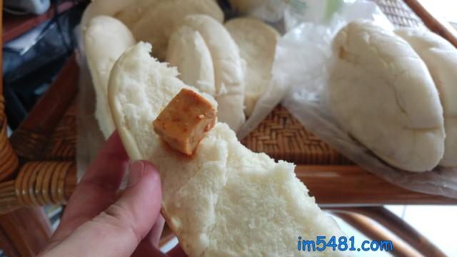 豆腐乳配饅頭