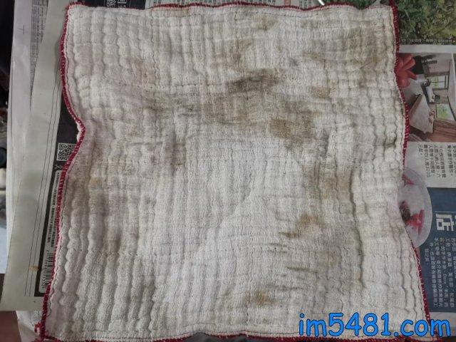 獅王香氛柔軟濃縮洗衣精-抗菌白玫瑰 廚房抹布污垢洗淨前