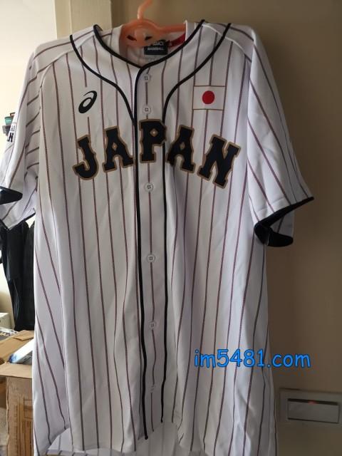 2017年7月版 SAMURAI Japan 「侍ジャパン」 ユニフォームTシャツ跟レプリカユニフォーム(ホーム)